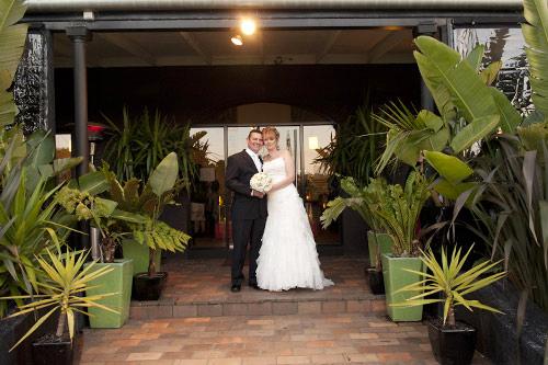 wedding photography melbourne twilight portrait