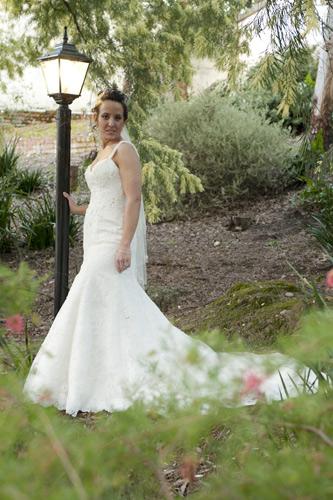 bridal photography potters warrandyte garden