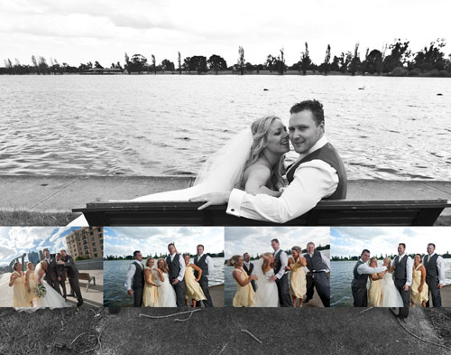 Wedding photography Albert Park Melbourne