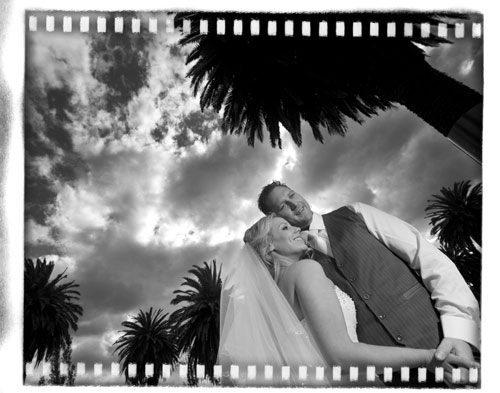 Albert Park Lake bridal photo